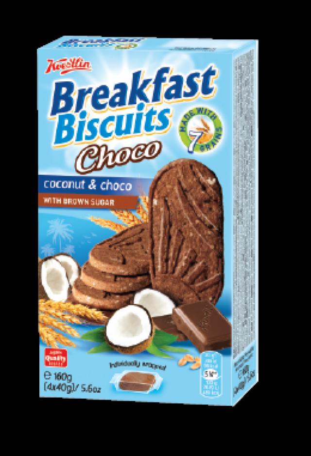 Breakfast Biscuits - kókusz és csokidarabokkal