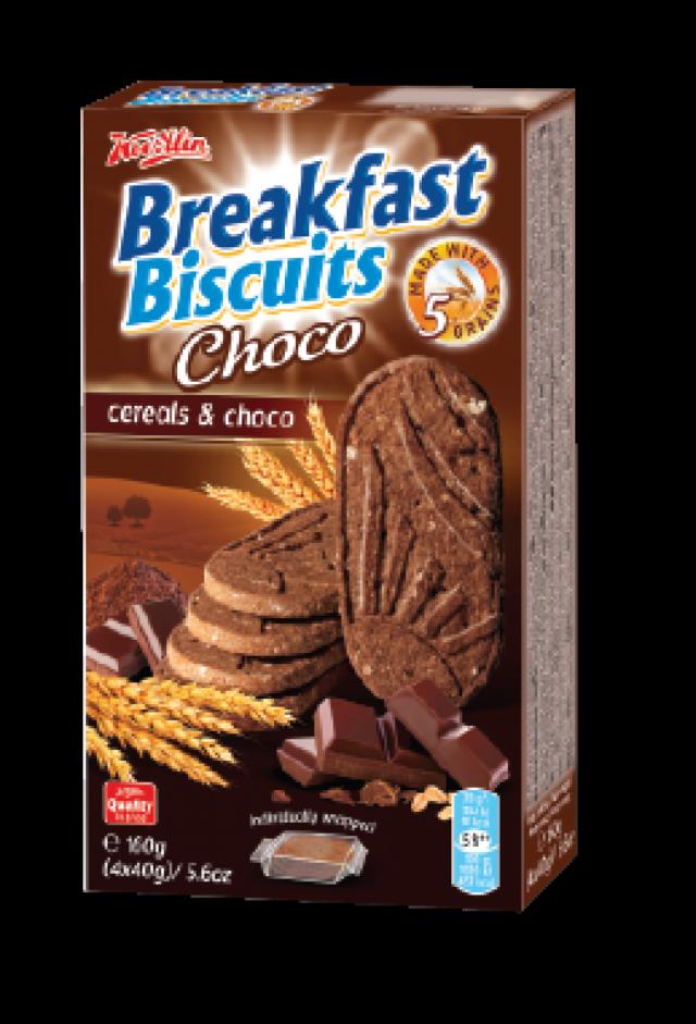 Breakfast Biscuits - csokidarabokkal