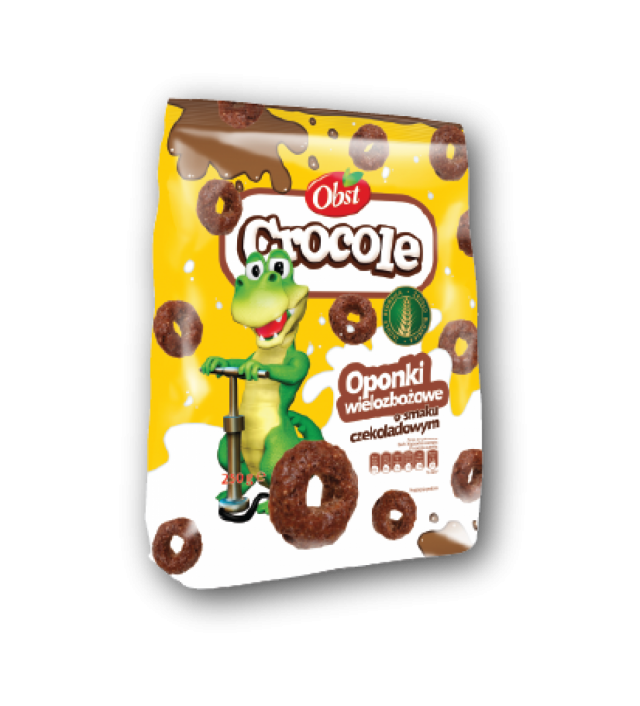 Crocole csokoládé karikák