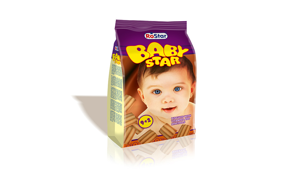 BABY STAR vitaminnal keksz gyerekeknek