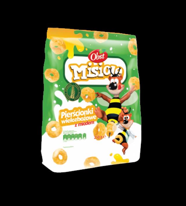 Misiole mézes gabonakarikák