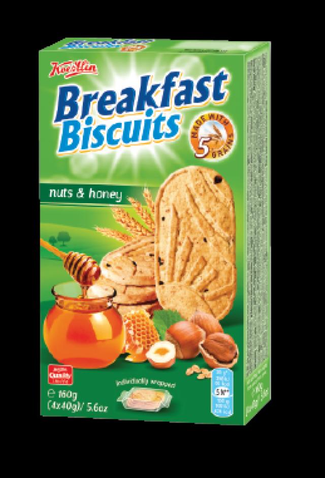 Breakfast Biscuits - mézzel és magvakkal