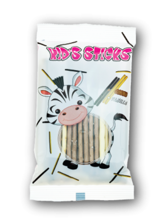 Kid's Sticks kakaós és vaníliás pálcika
